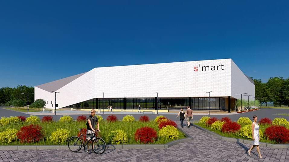 В Челябинске строят торговый центр с необычным фасадом. ПОДРОБНОСТИ 1