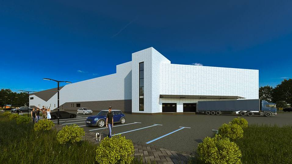 В Челябинске строят торговый центр с необычным фасадом. ПОДРОБНОСТИ 2
