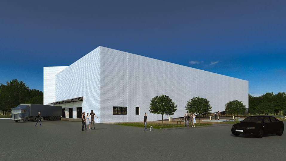 В Челябинске строят торговый центр с необычным фасадом. ПОДРОБНОСТИ 4