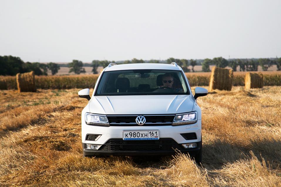Алексей Матвеенко совершил загородный вояж на новом Volkswagen Tiguan 1