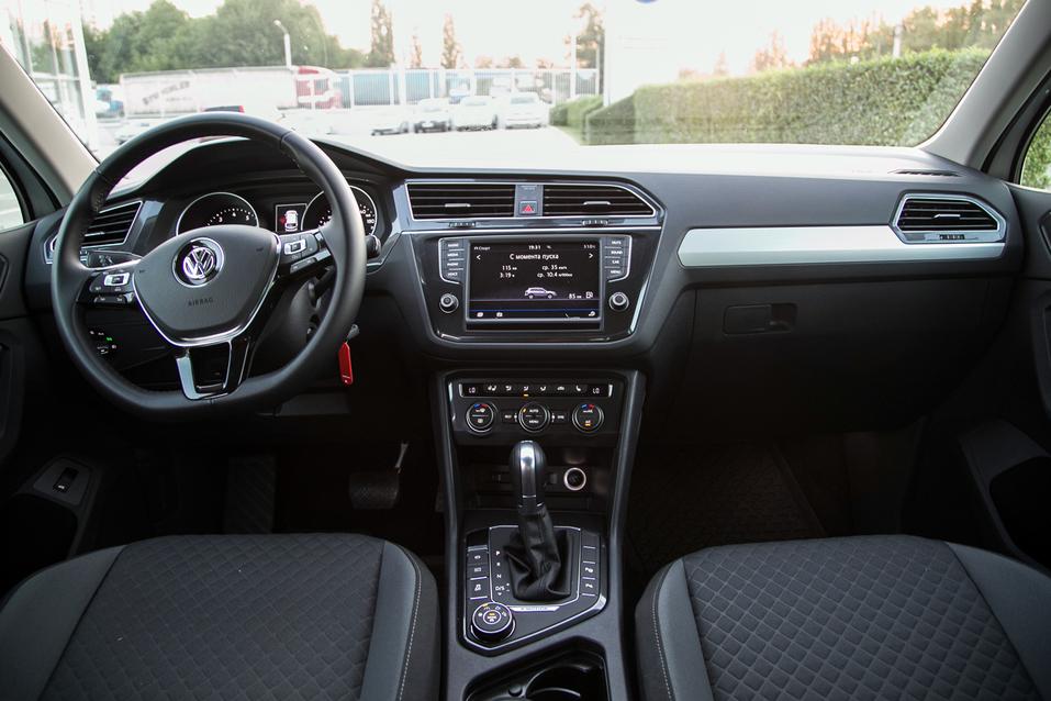 Алексей Матвеенко совершил загородный вояж на новом Volkswagen Tiguan 3