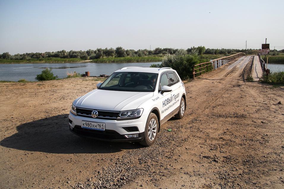 Алексей Матвеенко совершил загородный вояж на новом Volkswagen Tiguan 6