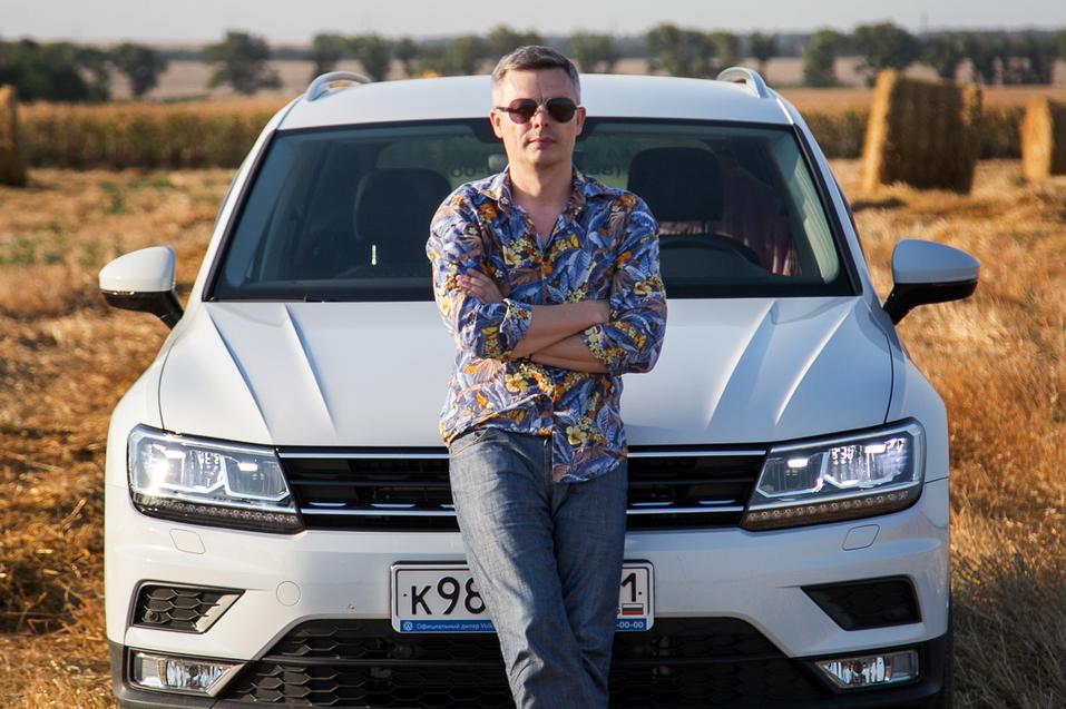 Алексей Матвеенко совершил загородный вояж на новом Volkswagen Tiguan 7