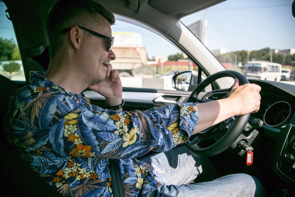 Алексей Матвеенко совершил загородный вояж на новом Volkswagen Tiguan 8