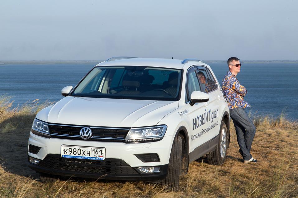 Алексей Матвеенко совершил загородный вояж на новом Volkswagen Tiguan 10