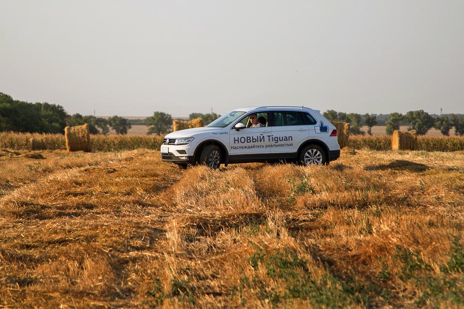 Алексей Матвеенко совершил загородный вояж на новом Volkswagen Tiguan 16