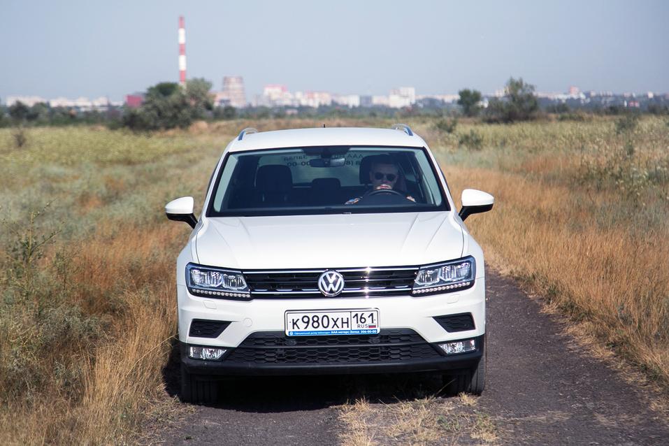 Алексей Матвеенко совершил загородный вояж на новом Volkswagen Tiguan 22