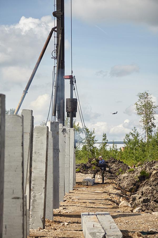 В районе аэропорта Кольцово строится новый логистический комплекс 5