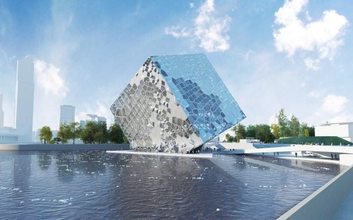 Не на воде. В Екатеринбурге все же построят новый зал для филармонии 1
