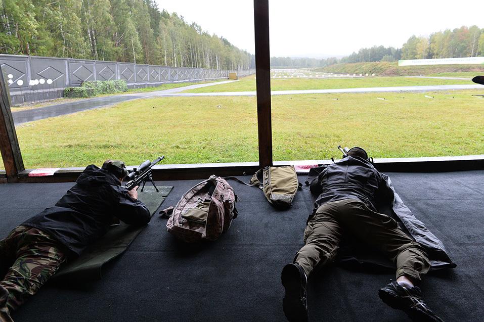 Самые меткие стрелки России встретились на полигоне «Старатель» 13