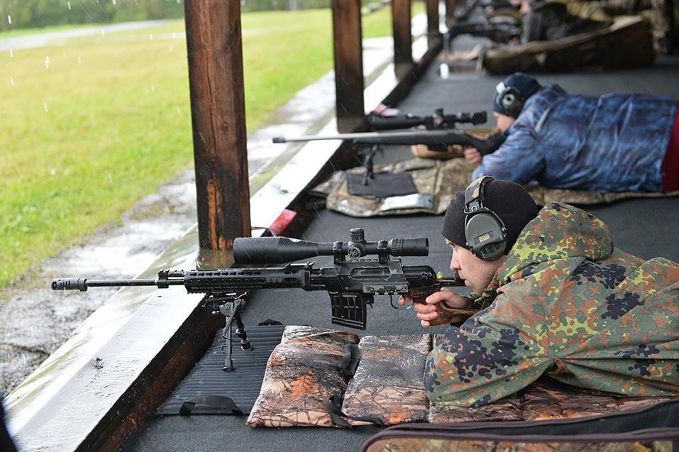 Самые меткие стрелки России встретились на полигоне «Старатель» 14