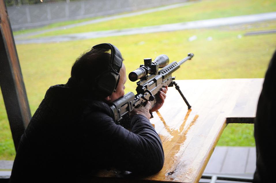 Самые меткие стрелки России встретились на полигоне «Старатель» 12