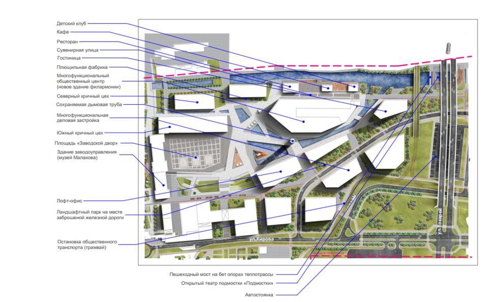 Территорию Верх-Исетского завода реконструируют и превратят в парк или арт-пространство 2
