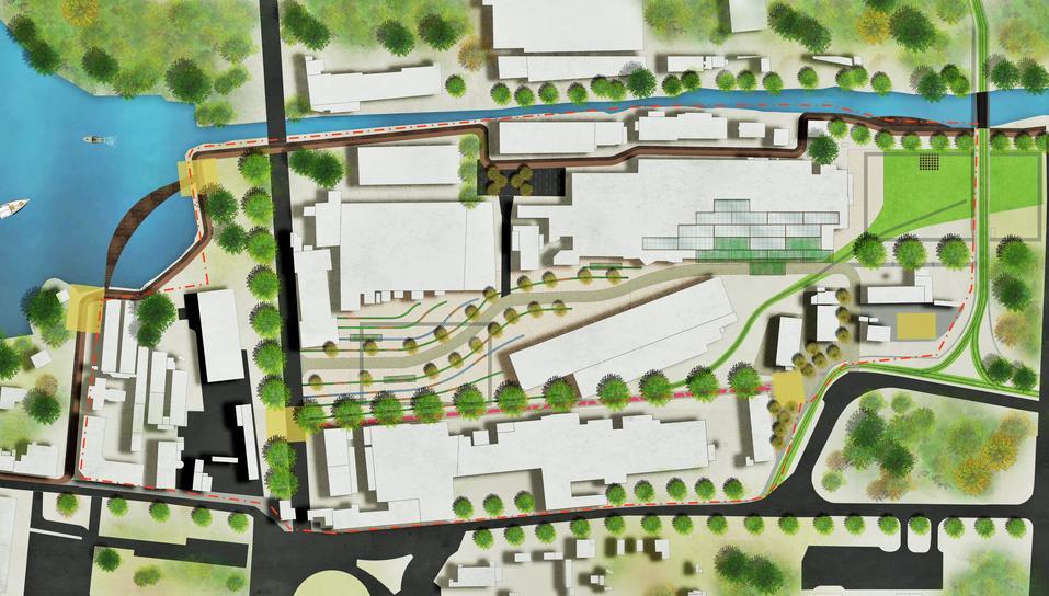 «Через сто лет это будет центр города». Градсовет выбрал проект набережной пруда на ВИЗе 7