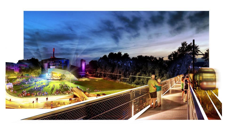 «Через сто лет это будет центр города». Градсовет выбрал проект набережной пруда на ВИЗе 9