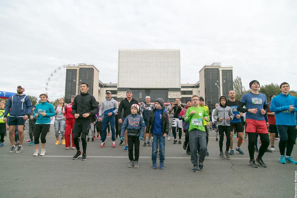 """В Ростове прошел старейший в городе забег """"Донской марафон"""" 2"""
