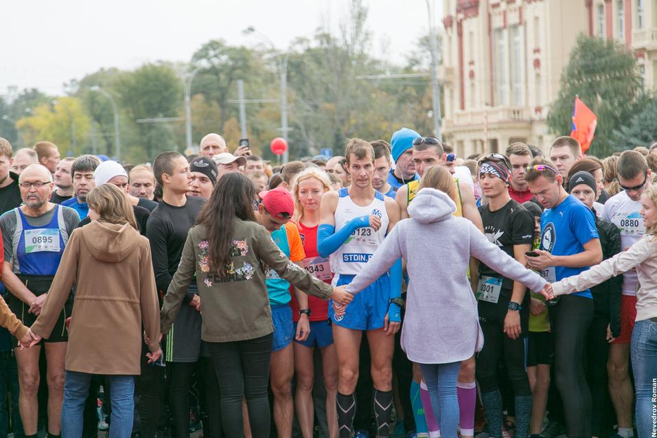 """В Ростове прошел старейший в городе забег """"Донской марафон"""" 5"""