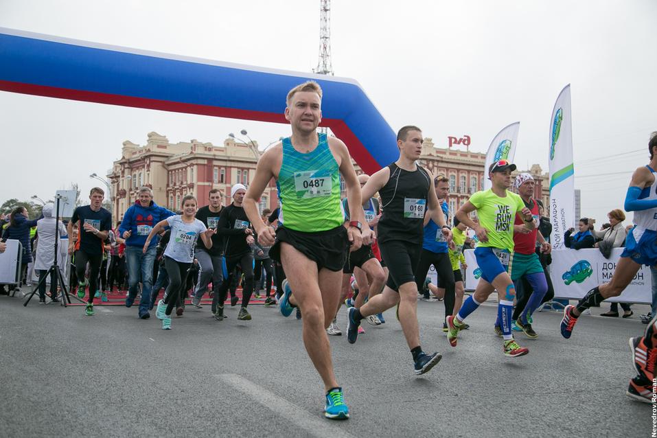 """В Ростове прошел старейший в городе забег """"Донской марафон"""" 8"""