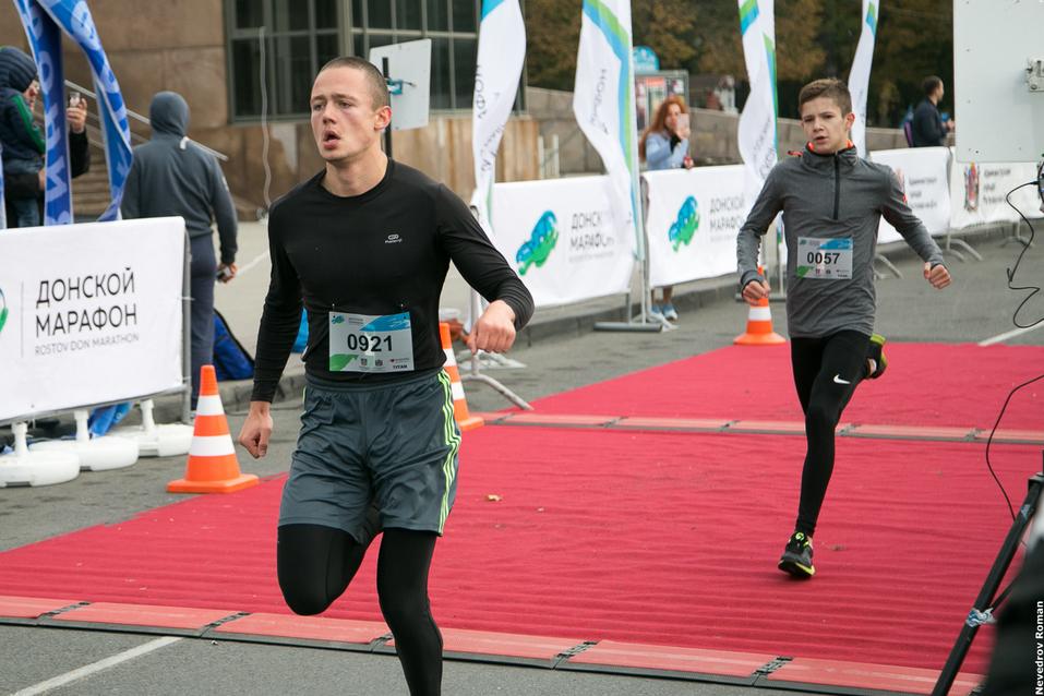 """В Ростове прошел старейший в городе забег """"Донской марафон"""" 13"""