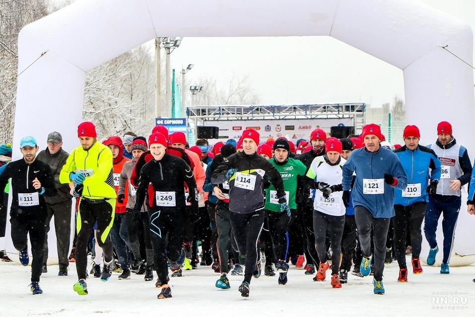 Первый инклюзивный дружеский забег «Первый снег» прошел в Нижнем Новгороде  11