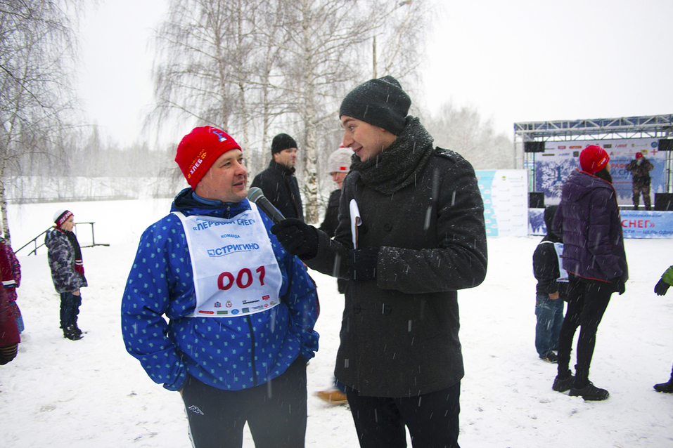 Первый инклюзивный дружеский забег «Первый снег» прошел в Нижнем Новгороде  12