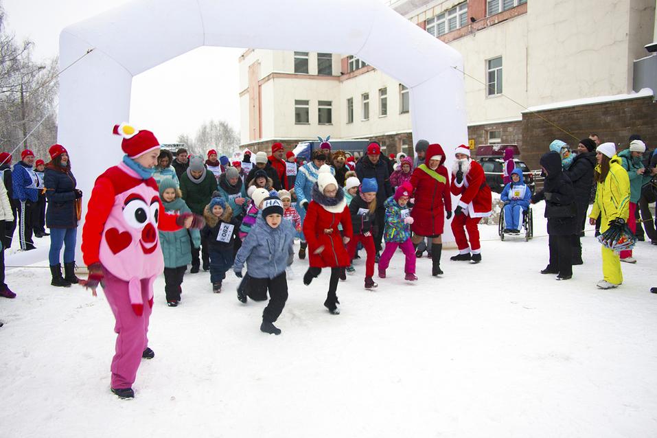 Первый инклюзивный дружеский забег «Первый снег» прошел в Нижнем Новгороде  13