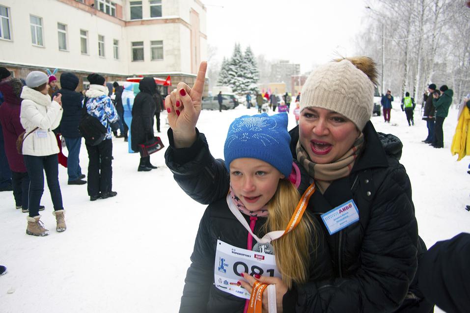 Первый инклюзивный дружеский забег «Первый снег» прошел в Нижнем Новгороде  14