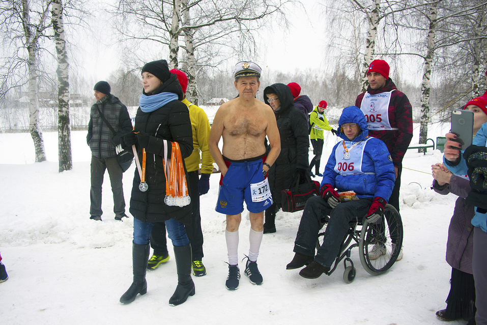 Первый инклюзивный дружеский забег «Первый снег» прошел в Нижнем Новгороде  18