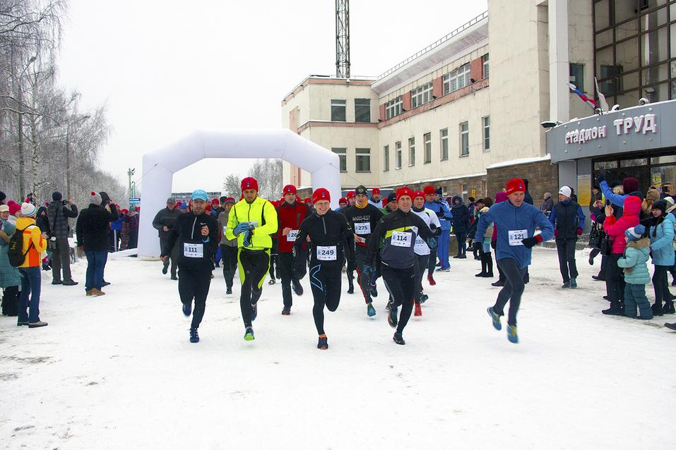 Первый инклюзивный дружеский забег «Первый снег» прошел в Нижнем Новгороде  19