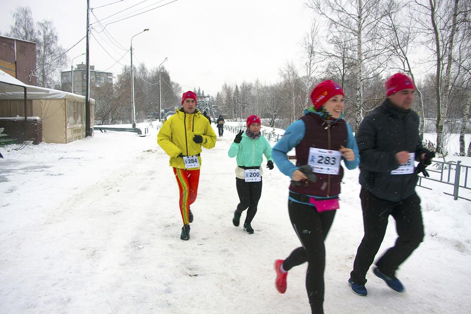 Первый инклюзивный дружеский забег «Первый снег» прошел в Нижнем Новгороде  23