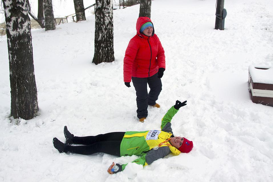 Первый инклюзивный дружеский забег «Первый снег» прошел в Нижнем Новгороде  25