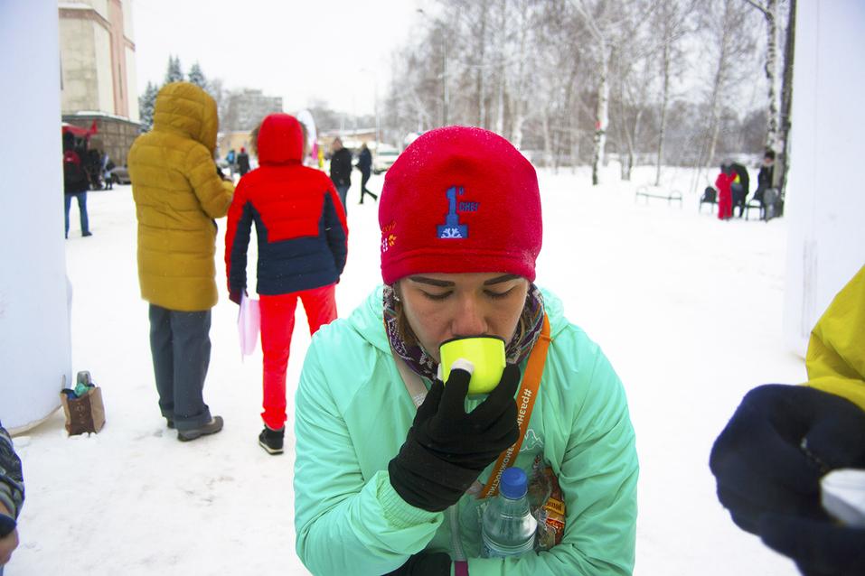 Первый инклюзивный дружеский забег «Первый снег» прошел в Нижнем Новгороде  27