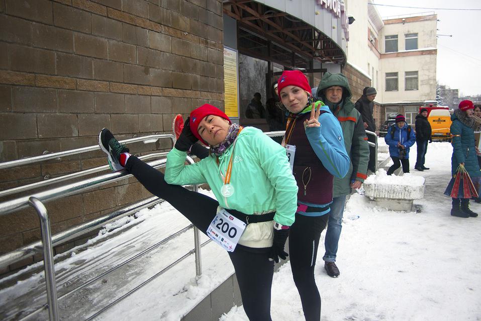 Первый инклюзивный дружеский забег «Первый снег» прошел в Нижнем Новгороде  30