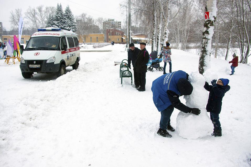 Первый инклюзивный дружеский забег «Первый снег» прошел в Нижнем Новгороде  29