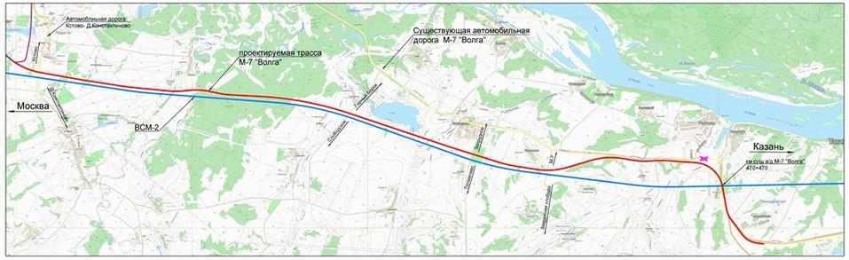 Где пройдёт Южный обход Нижнего Новгорода. Примерная СХЕМА 1