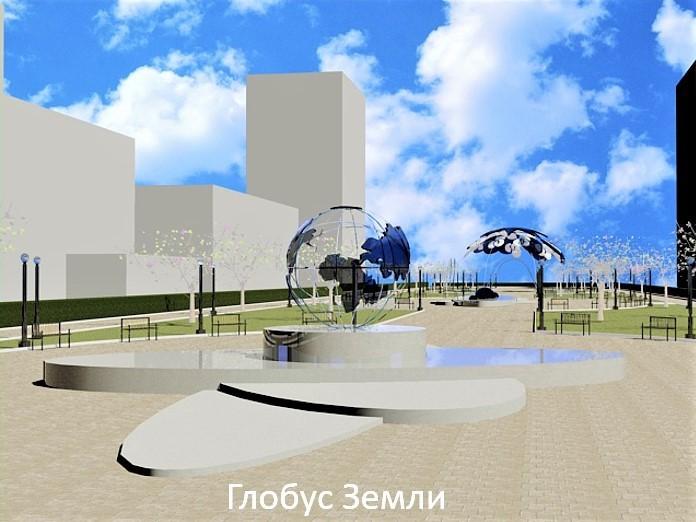Космический парк, верблюд и туалеты. Как преобразят центр Челябинска к 2020 г. 3