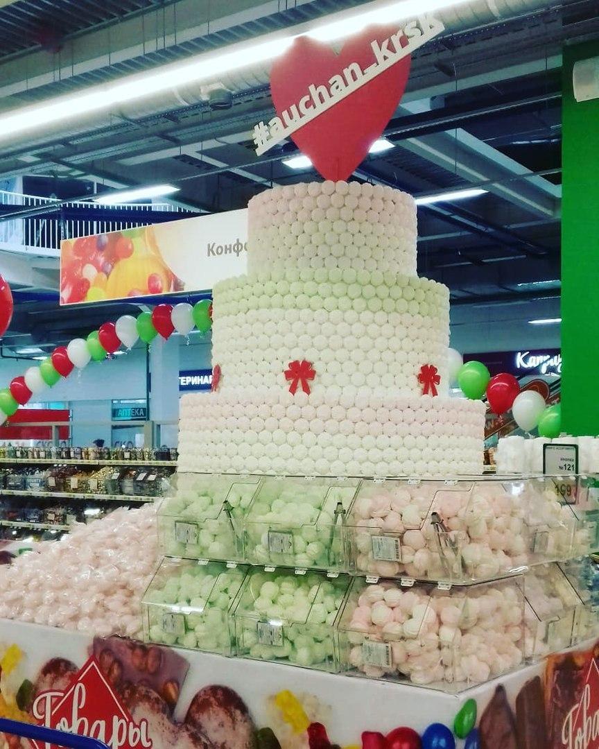 В Красноярске открылся гипермаркет «Ашан» 2