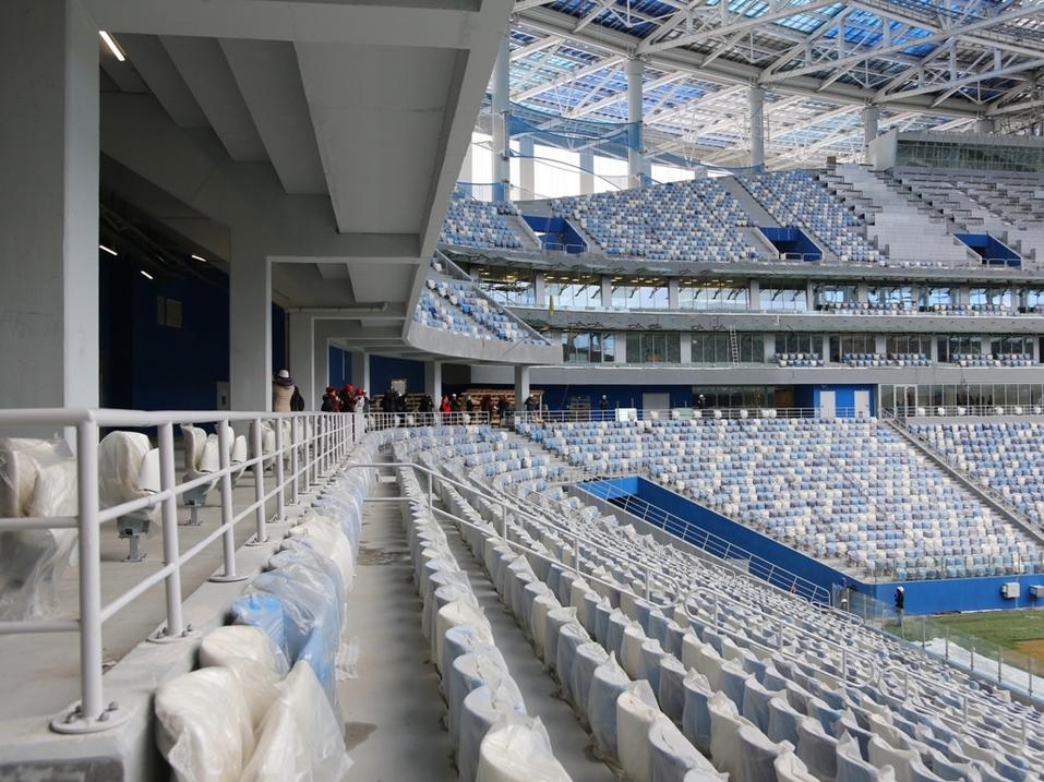 Делегация FIFA оценила ход подготовки «Стадиона Нижний Новгород» к ЧМ-2018  3