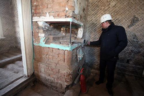 В Красноярске началась реставрация еще одного здания «исторического квартала» 1