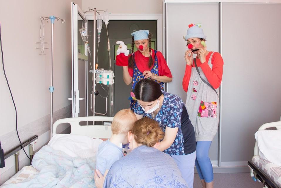 Ради одной улыбки: как работают красноярские больничные клоуны   1