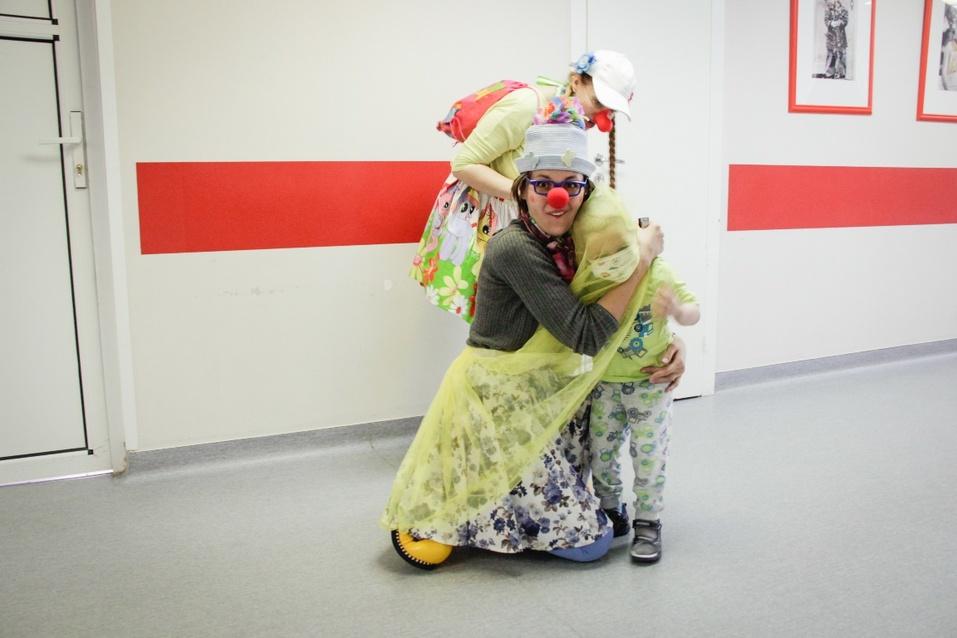 Ради одной улыбки: как работают красноярские больничные клоуны   2