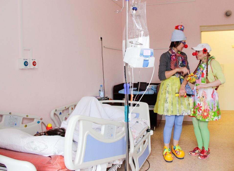 Ради одной улыбки: как работают красноярские больничные клоуны   3