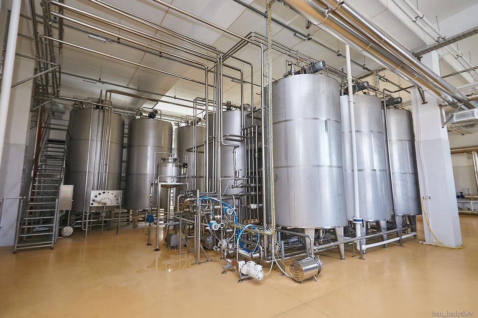 Как в Челябинске делают молоко без коровы: фоторепортаж с завода растительных напитков 1