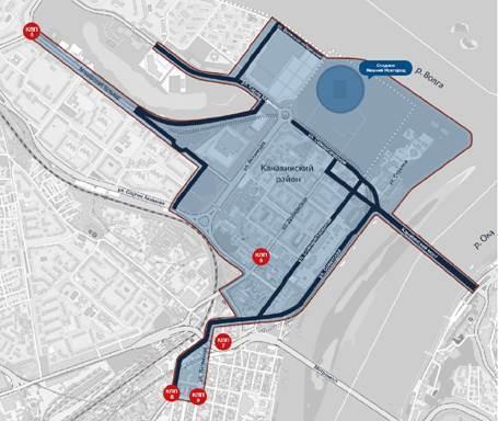 Где в Нижнем Новгороде можно получить транспортный пропуск к ЧМ-2018. АДРЕСА 1