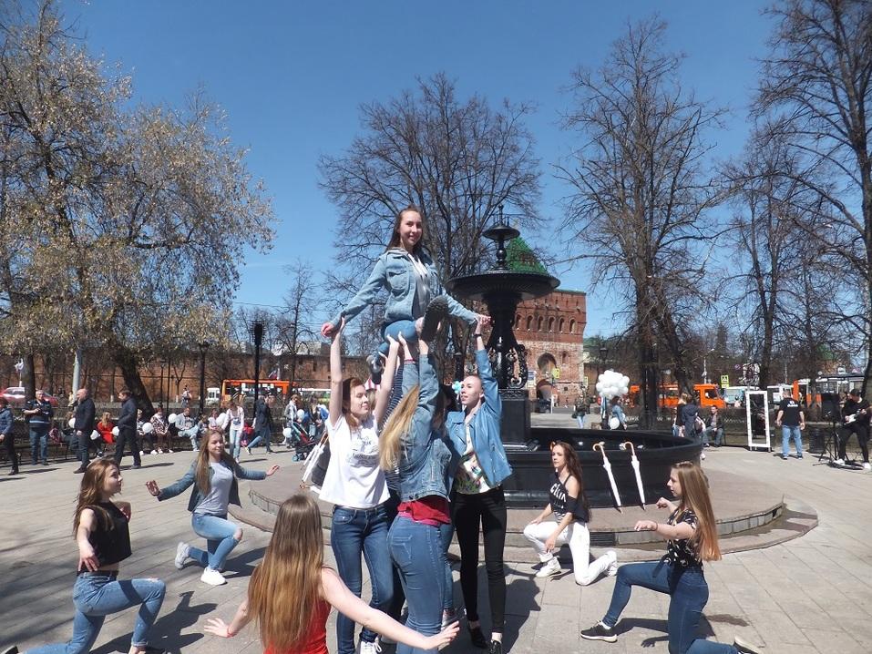 «В черном цвете». Как открывали центральный фонтан Нижнего Новгорода. ФОТО 3