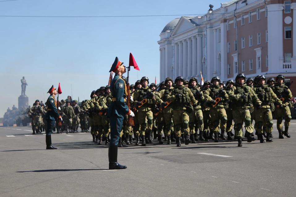 В Нижнем Новгороде прошел парад Победы. ФОТОРЕПОРТАЖ 2