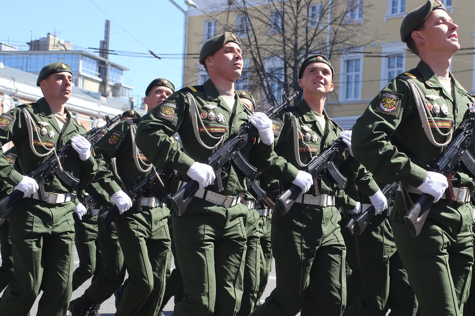 В Нижнем Новгороде прошел парад Победы. ФОТОРЕПОРТАЖ 3
