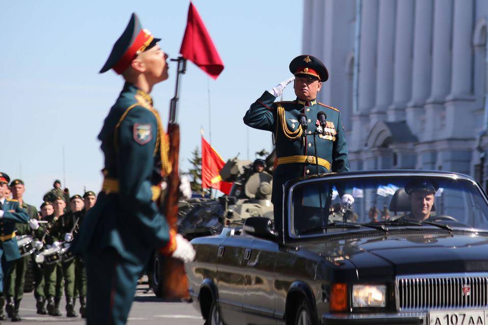 В Нижнем Новгороде прошел парад Победы. ФОТОРЕПОРТАЖ 5