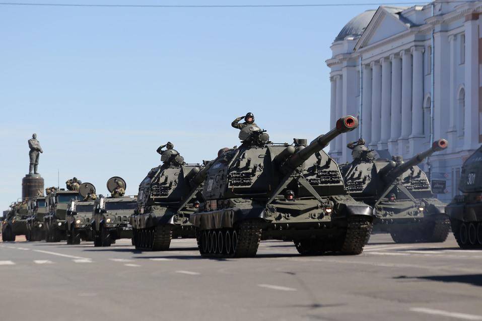 В Нижнем Новгороде прошел парад Победы. ФОТОРЕПОРТАЖ 6