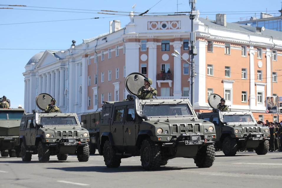 В Нижнем Новгороде прошел парад Победы. ФОТОРЕПОРТАЖ 7